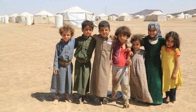 نازحو الجوف في مخيمات مأرب-المهرية نت