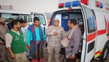 سقطرى تتسلم مركبات سعودية دعما لمطار الأرخبيل
