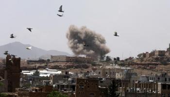 الحوثيون يتهمون التحالف بقصف منزل مواطن في صعدة شمالي اليمن