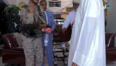 """مشاهد حصرية على """"المهرية"""" تكشف لحظة اقتحام مليشيا باكريت لمقابلة """"الحريزي"""""""