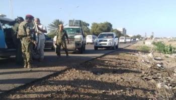 انفجار عبوة ناسفة استهدفت مدرعات عسكرية سعودية في عدن