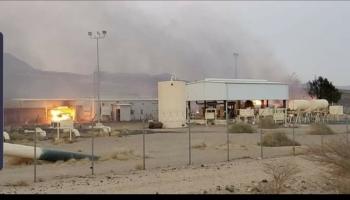 """النفط اليمنية تتهم الحوثيين بتوجيه """"ضربة تدميرية"""" لمضخة النفط في صرواح"""