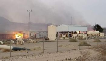 الحوثيون ينفون استهداف منشأة نفطية في صرواح بمحافظة مأرب