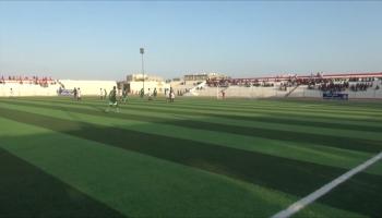 افتتاح دوري المهرة التصنيفي لكرة القدم بمباراة بين فريقي الساحل وحوف