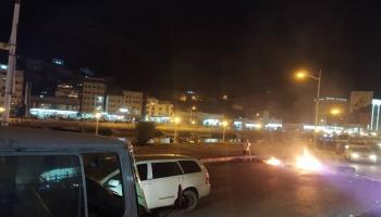 احتجاجات ليلية في حضرموت تندد بالقمع وتطالب بالإفراج عن المعتقلين