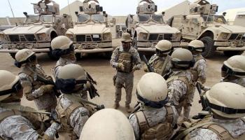 قوات سعودية في المهرة - إرشيف