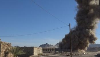 غارات جوية للتحالف شمال وغربي صنعاء