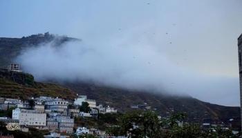 الأرصاد يتوقع استمرار هطول أمطار متفرقة وتشكل السحب