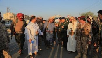 وصول قافلة أبين الاغاثية المتنوعة إلى محافظة مأرب