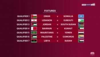 قرعة كأس العرب في قطر
