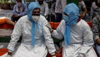 انتشار الفيروس المستجد في الهند