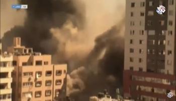 قصف البرج