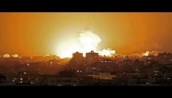 قصف على غزة
