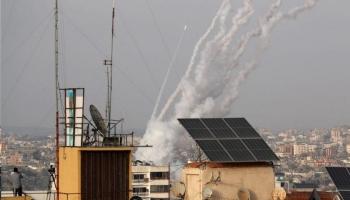 صواريخ حماس على إسرائيل