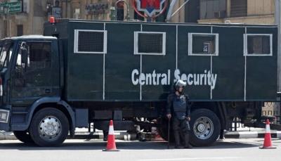 عنصر أمن مصري