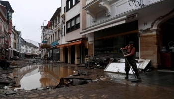 فيضانات ألمانيا