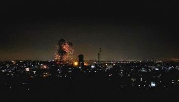 غارات سابقة على غزة
