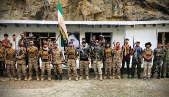 قوات من جبهة المقاومة الوطنية الأفغانية
