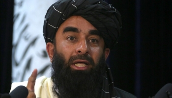 ذبيح الله مجاهد ناطق طالبان