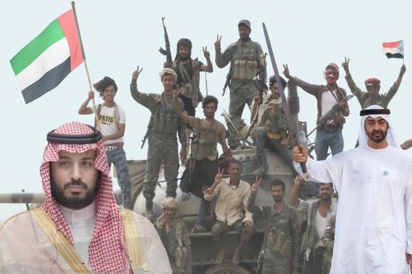 """ما وراء تصعيد التحالف العربي ضد """" المجلس الانتقالي"""" المدعوم إماراتيا؟!"""