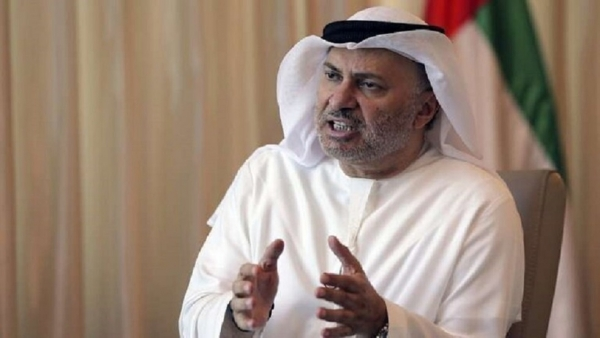 قرقاش: الإمارات ترغب في تطبيع العلاقات مع تركيا