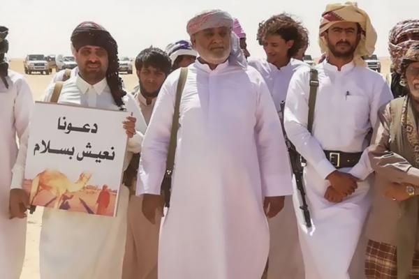 احتجاجات شعبية سابقة بالمهرة