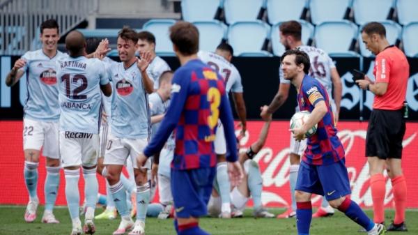 برشلونة يسقط في فخ التعادل الإيجابي أمام سيلتا فيغو
