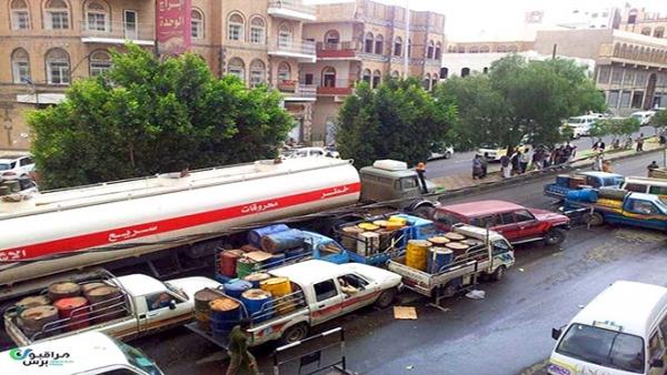 """الحوثيون يعلنون نفاد مخزون """"الديزل"""" في مناطق سيطرتهم"""