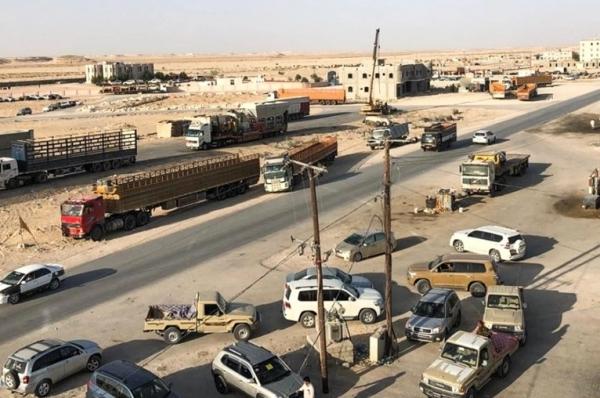 السعودية تدفع بتعزيزات عسكرية لاقتحام منفذ شحن في المهرة