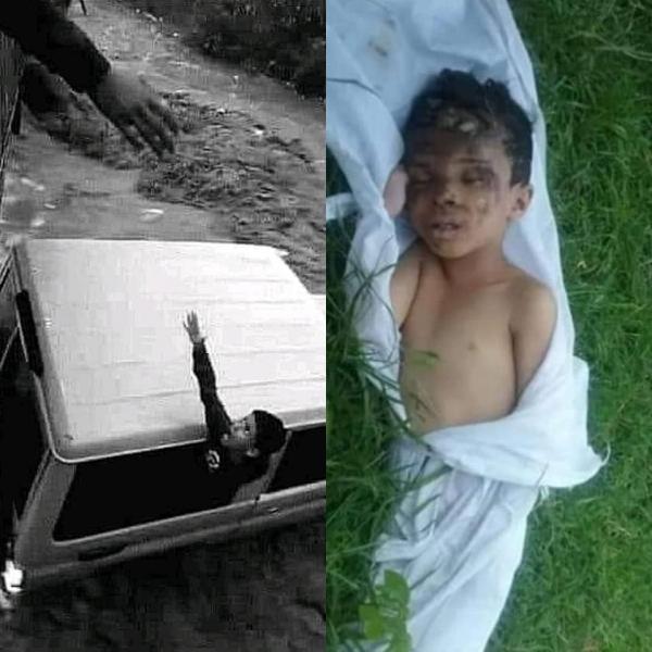الضالع: مواطنون يعثرون على جثة الطفل الذي جرفته السيول مع أسرته في إب