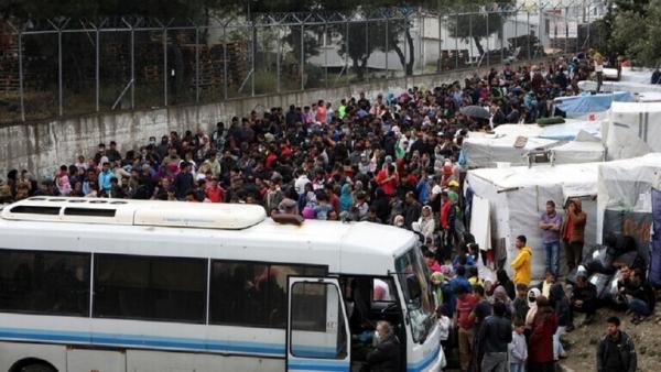 ألمانيا تعتزم استقبال نحو 1500 مهاجر بعد حريق موريا