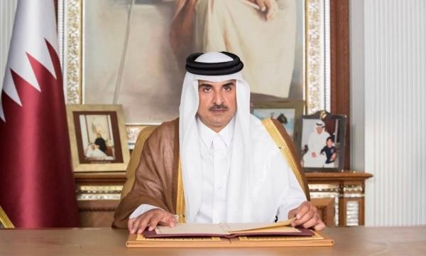 أمير قطر: التفاوض بين اليمنيين هو السبيل الوحيد لحل الأزمة