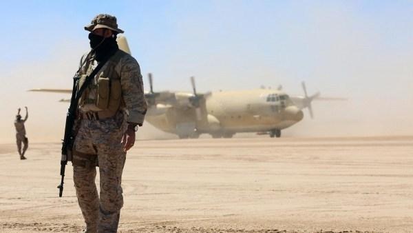 القوات السعودية تحتل مطار الغيضة منذ 2017 - أرشيفية
