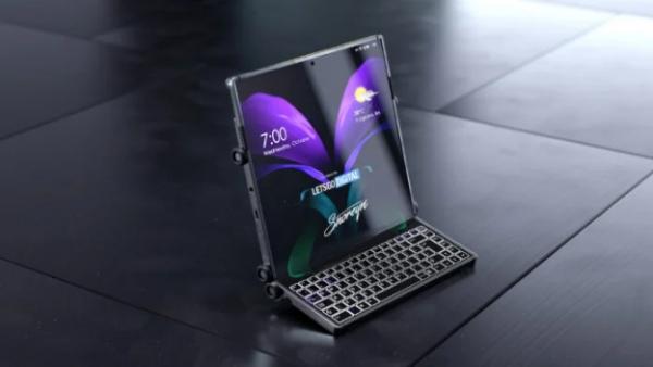 سامسونج تسجل براءة اختراع لنسخة جديدة من الهواتف القابلة للطي