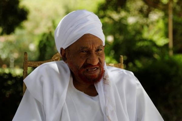 إصابة السياسي السوداني البارز الصادق المهدي بفيروس كورونا