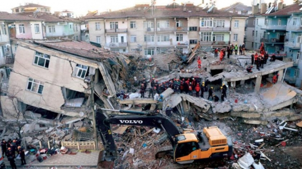 زلزال سابق