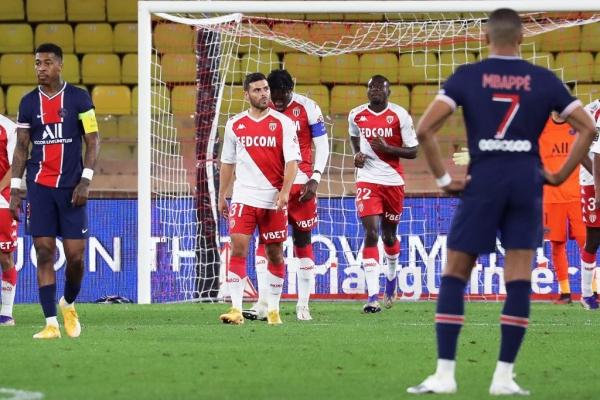 موناكو يحقق فوزاً مثيراً على سان جيرمان بثلاثة أهداف لهدفين