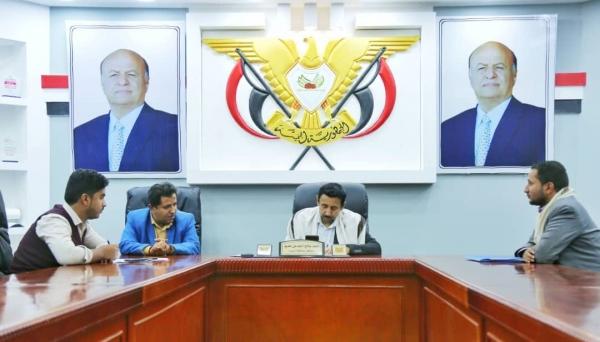 محافظ شبوة يوقع عقداً لإنشاء مبنى المكتبة المركزية في عتـق