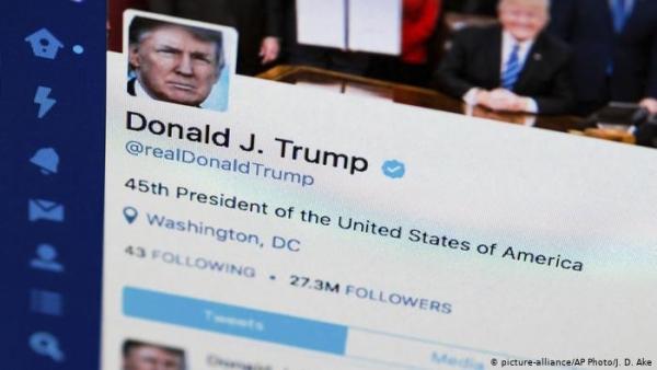 تويتر يعلن وقف حساب ترامب نهائيا بسبب خطر التحريض على العنف