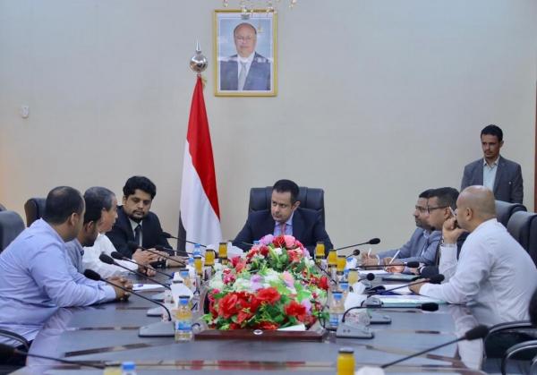 رئيس الوزراء يدعو لاستكمال محطة كهرباء الرئيس هادي بعدن قبل الصيف المقبل