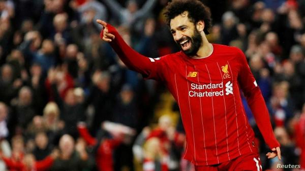 """أفضل لاعب عربي في 2020.. صلاح يفوز بجائزة """"غول 25"""""""