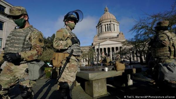 واشنطن تتحصن ليوم تنصيب بايدن رئيساً للولايات المتحدة