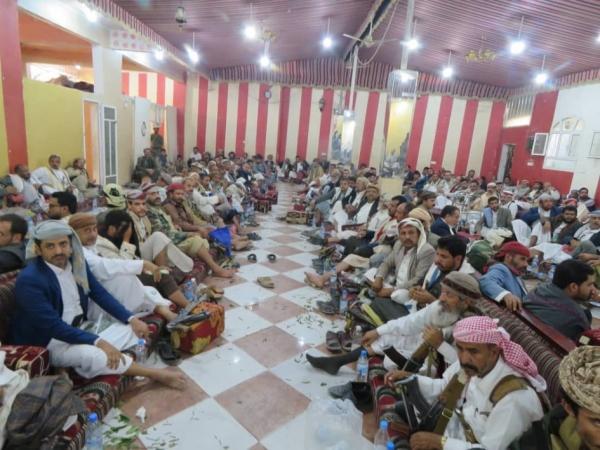 مأرب..مشائخ ووجهاء قبائل اليمن يدعون للنفير ويثمنون التلاحم القبلي الواسع
