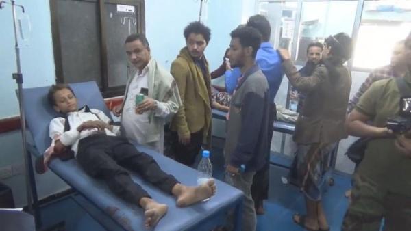 """منظمة """"سام"""" تدين قصف الحوثيين على أحياء سكنية في مدينة تعز"""