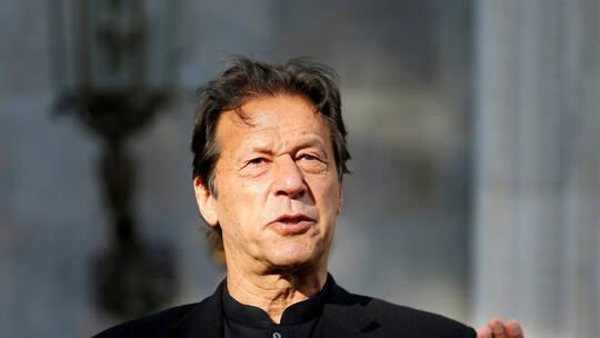 عمران خان رئيس الوزراء الباكستاني
