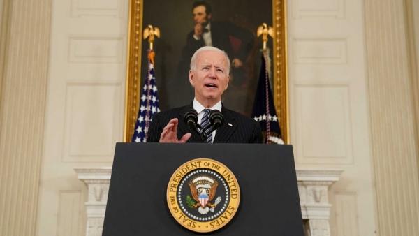 """الرئيس الأمريكي """"جو بايدن"""""""