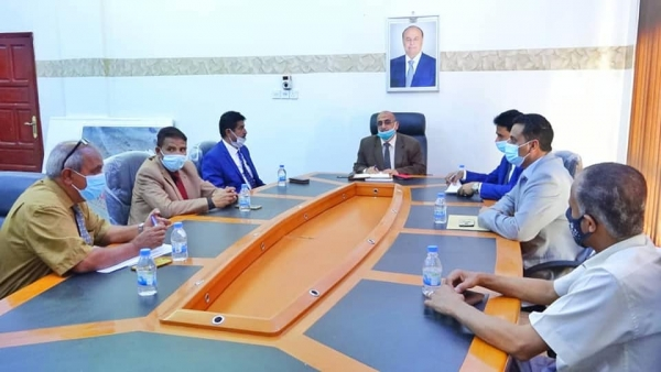 اجتماع مجلس جامعة شبوة