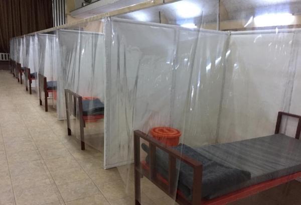 مركز الأمل لعلاج كورونا - إرشيف