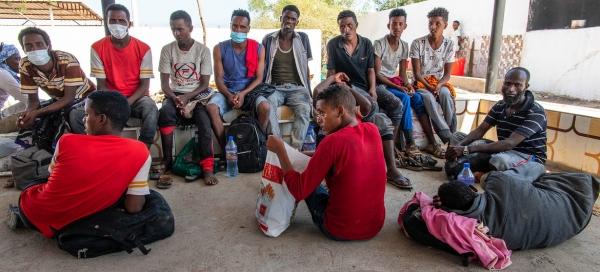 مهاجرون افارقة في اليمن-الامم المتحدة