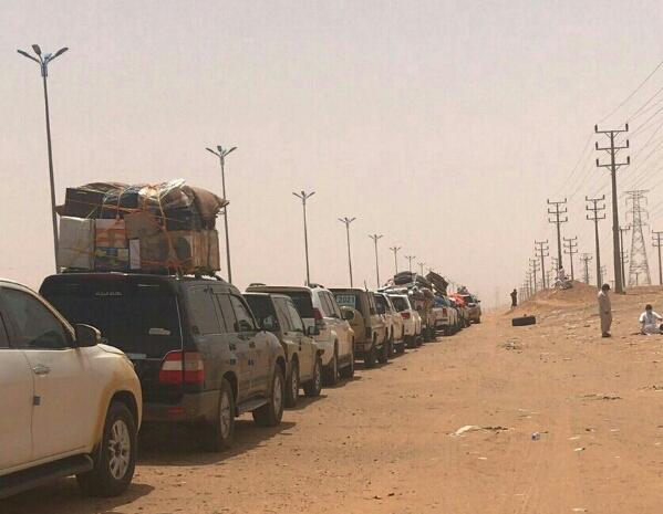 منظمة سام تدعو الحكومة اليمنية والسعودية لحل مشكلة العالقين اليمنيين في منفذ الوديعة